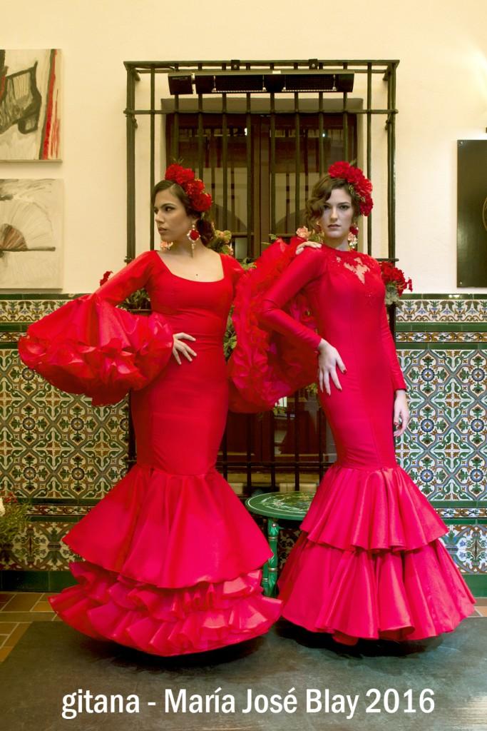 María José Blay Gitana Flamenca 2016 (3)