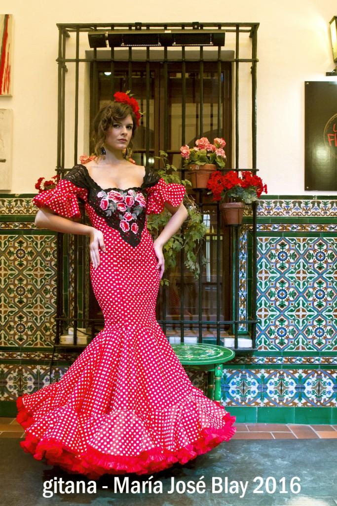 María José Blay Gitana Flamenca 2016 (6)