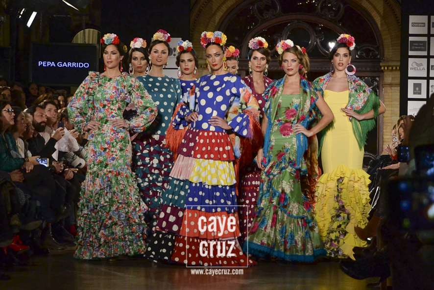 Desfile de Pepa Garrido en We Love Flamenco