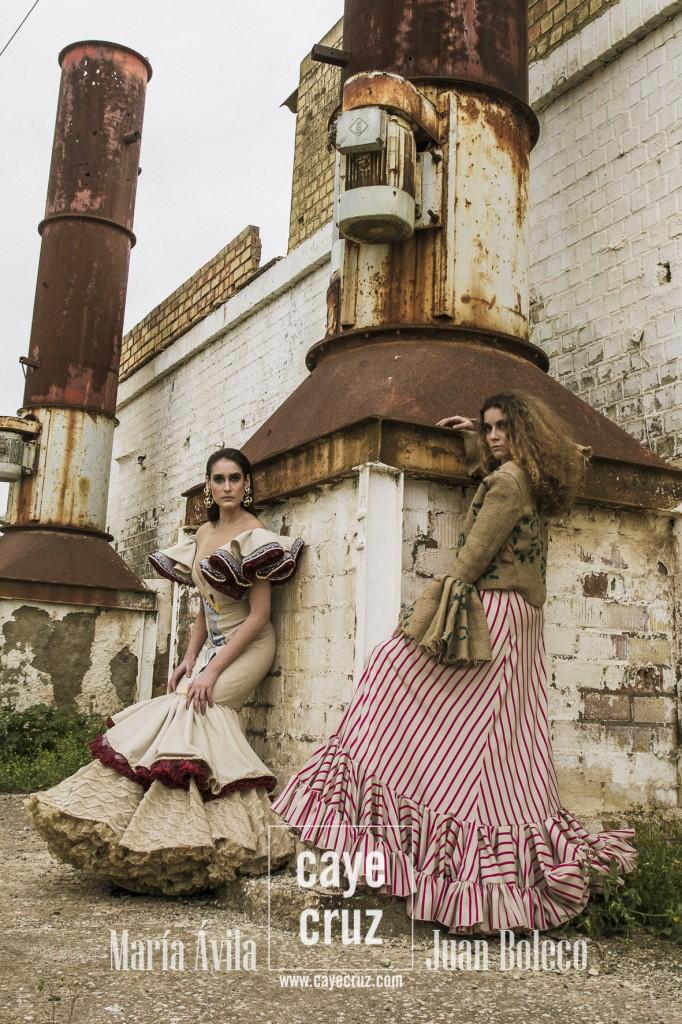 Paradise Editorial Moda Flamenca 2017 Parte 2 (9)