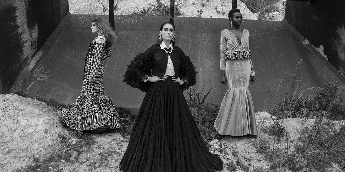 ISSUE 3: Paradise. Editorial Moda Flamenca 2017 – Primera Parte.
