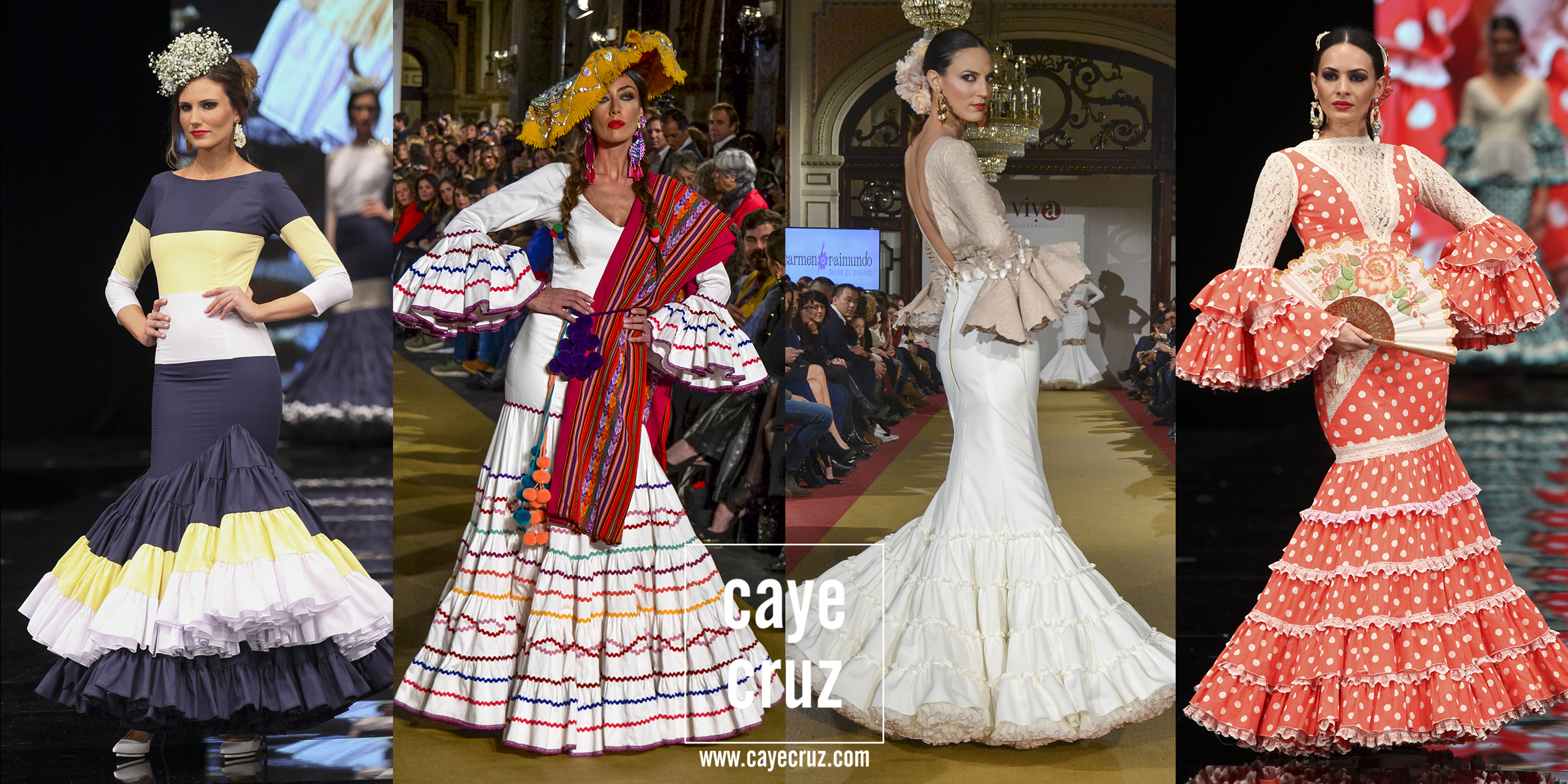 Moda Flamenca para la Feria 2017: Trajes Canasteros