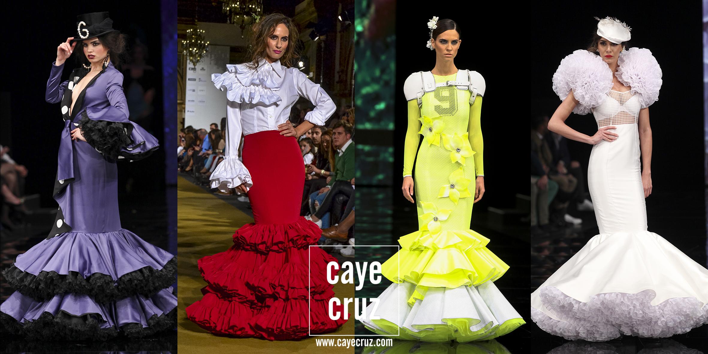 Moda Flamenca para la Feria 2017: Únicos