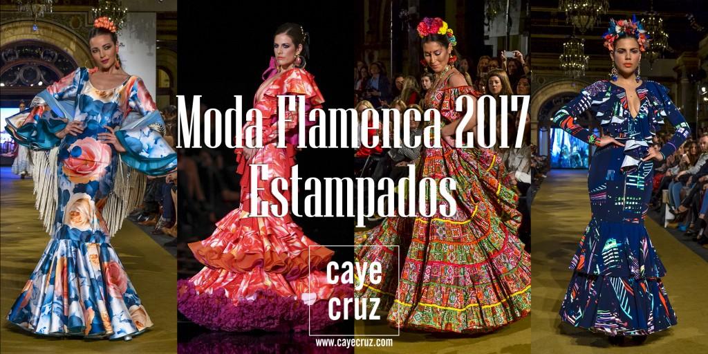 Trajes Feria de Sevilla 2017 Estampados 11