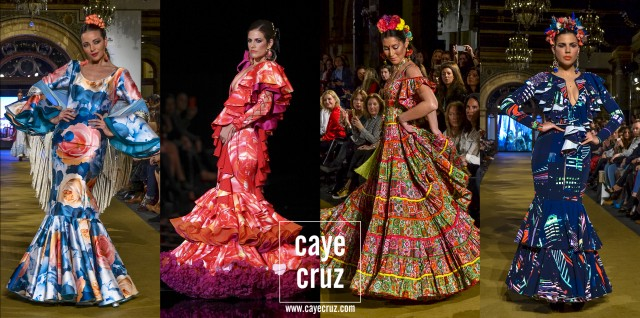 Trajes Feria de Sevilla 2017 Estampados 12
