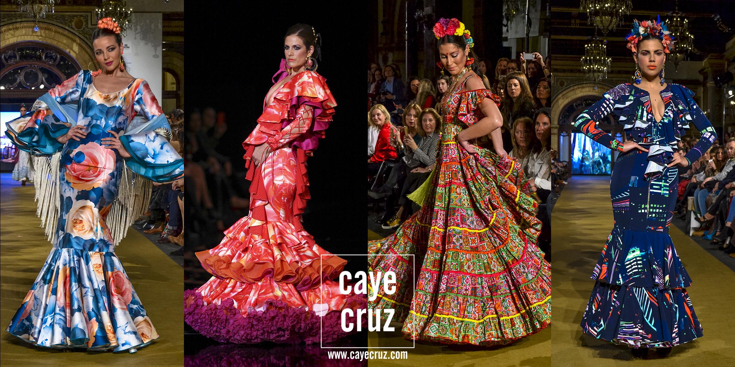 Moda Flamenca para la Feria 2017: Trajes Estampados