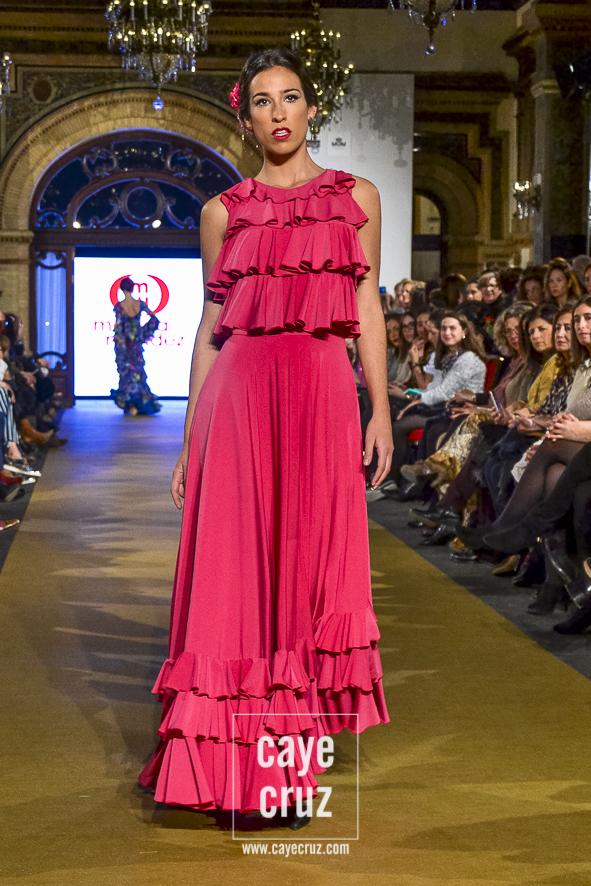 Vestidos de fiesta de inspiracion flamenca