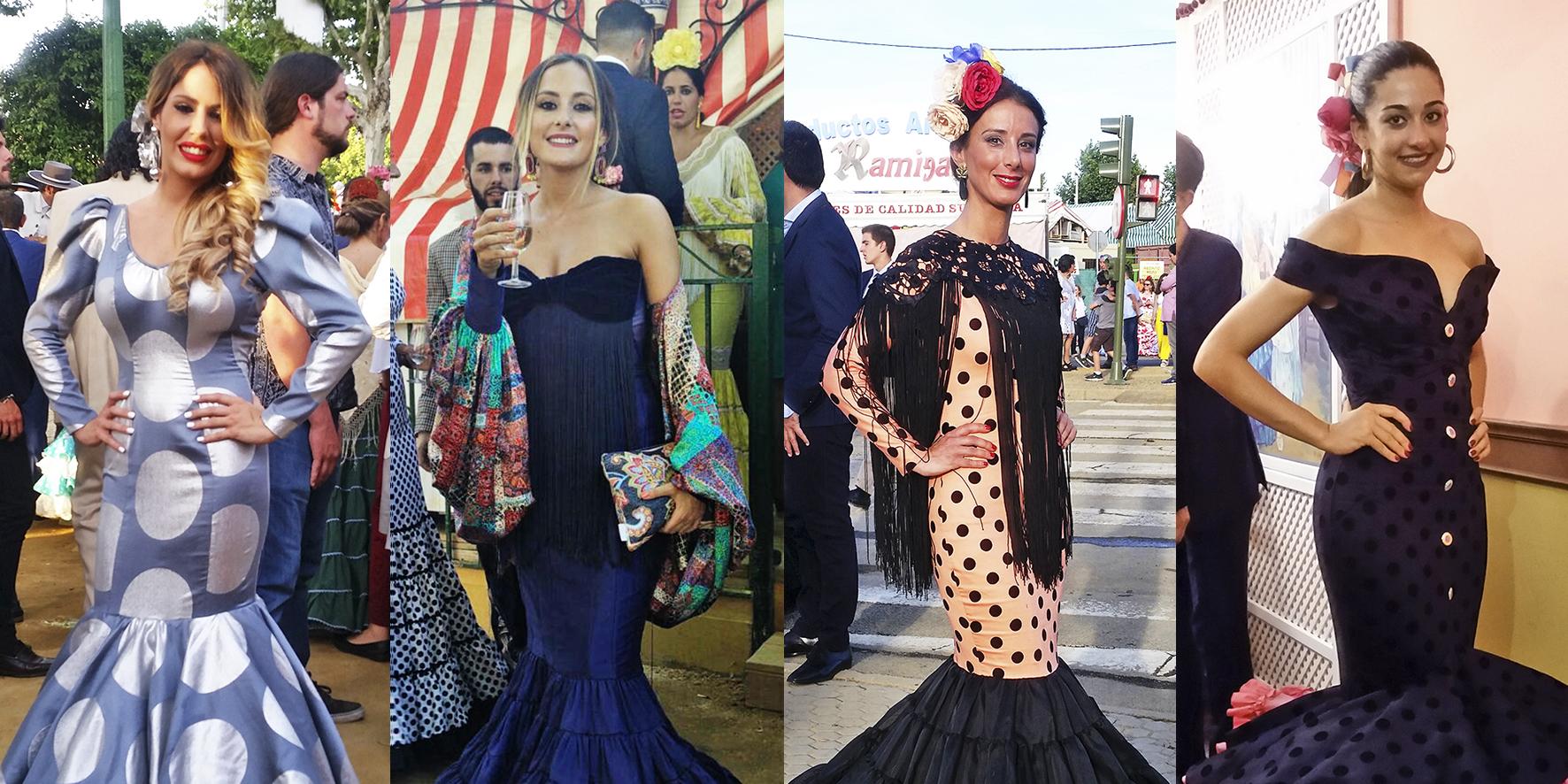 Flamencas en la Feria de Sevilla 2017