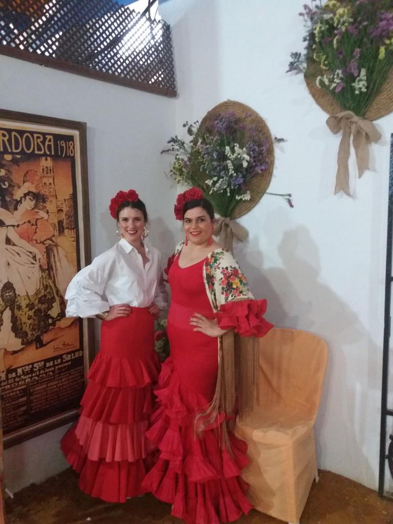Flamencas en Feria 28 de mayo Feria Cordoba Cristina Santos
