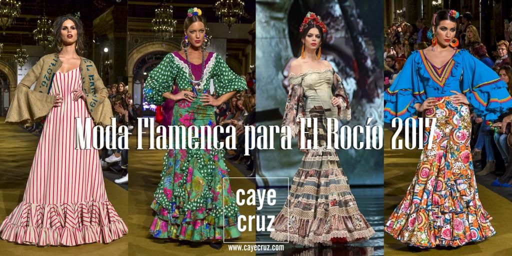 Moda Flamenca para el Rocío 2017 31