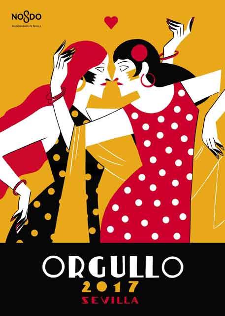 El Orgullo de Sevilla saca el Folclore del Armario