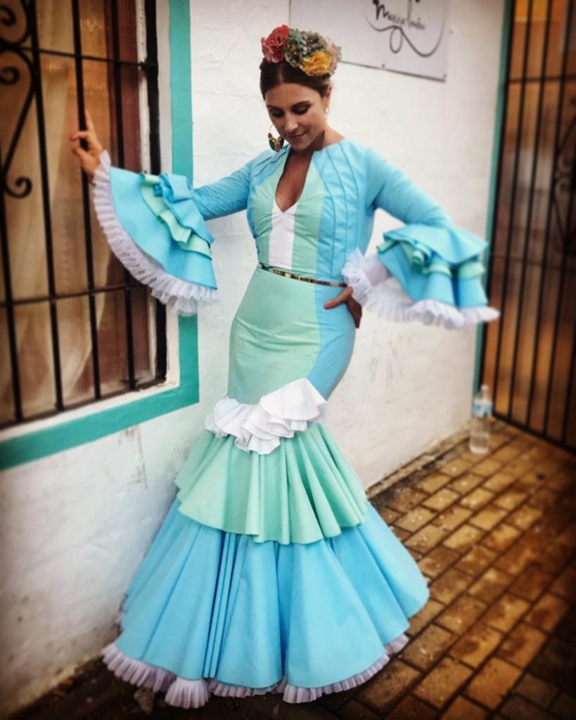 Flamenca Verano Malaga Amaranta