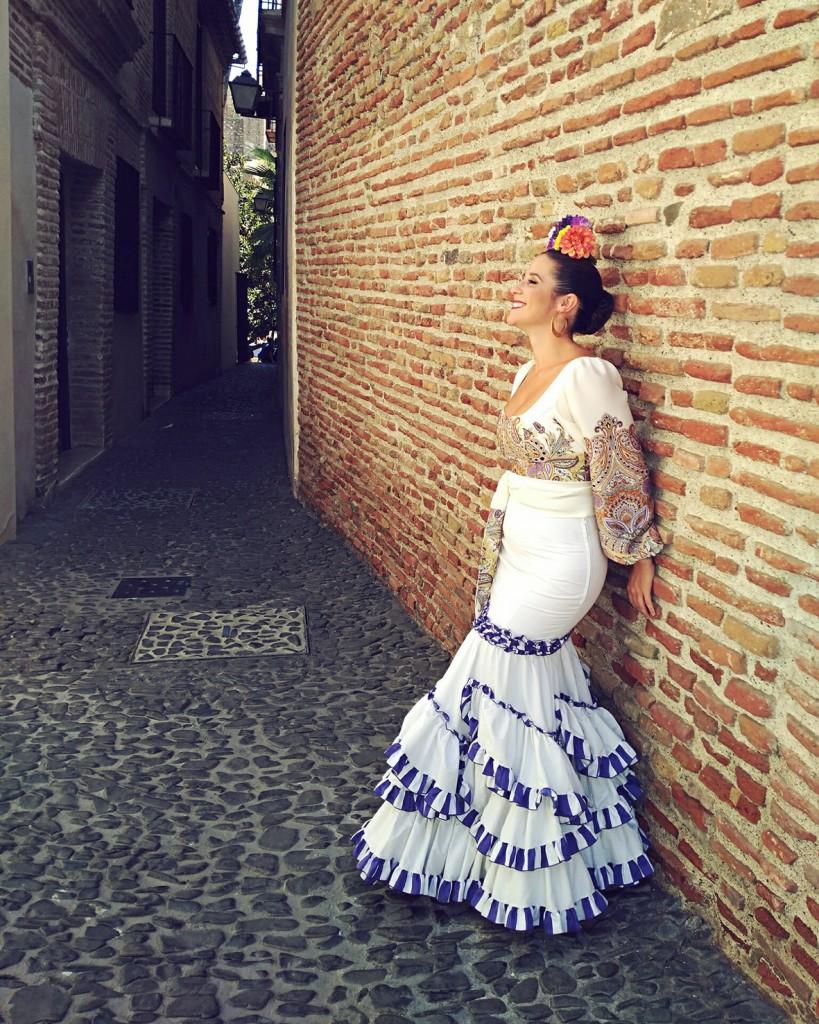 Flamenca Verano Malaga Maria Casares