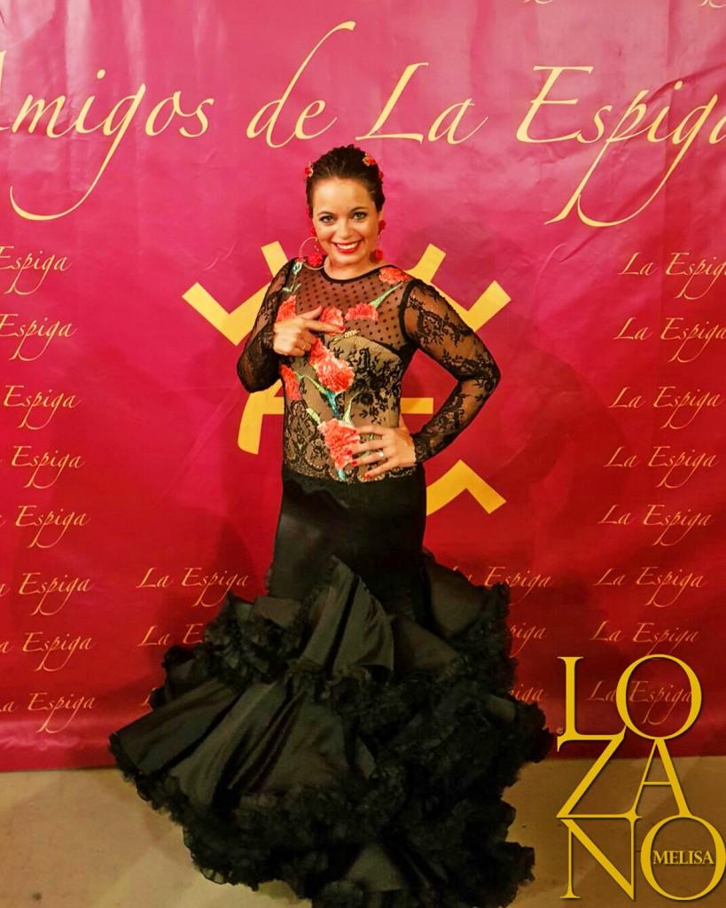 Flamenca Verano Malaga Melisa Lozano