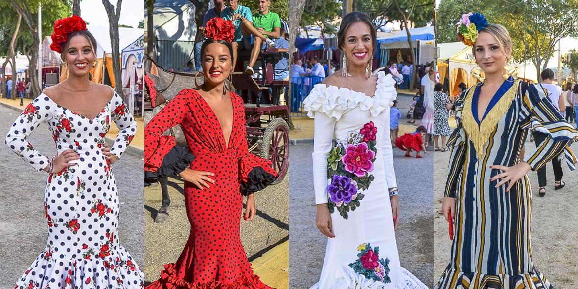 Flamencas en la Feria de Lebrija 2017