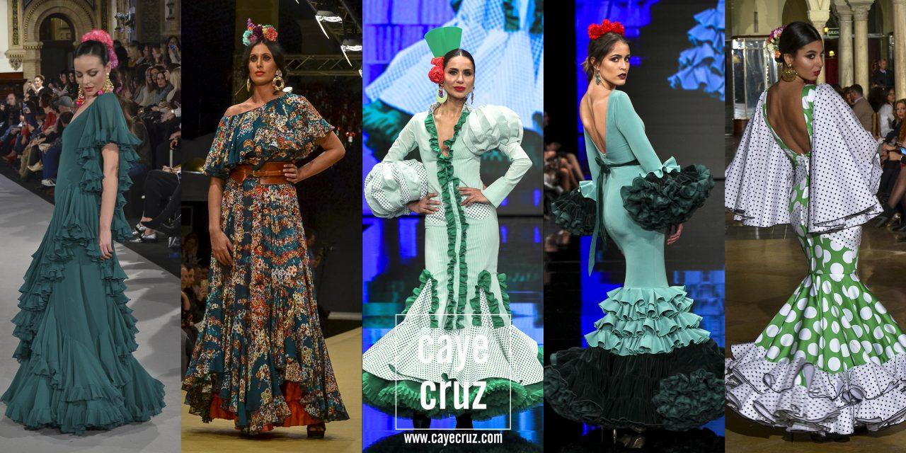 El Mooodboard: 15 trajes de flamenca en verde andaluz