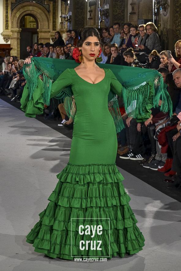 El Mooodboard 15 Trajes De Flamenca En Verde Andaluz Cayecruz