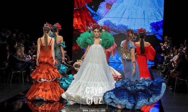 Gil Ortiz: 'Mi objetivo con mi colección ha sido hacer ver una flamenca de pasarela con cabida en la calle'