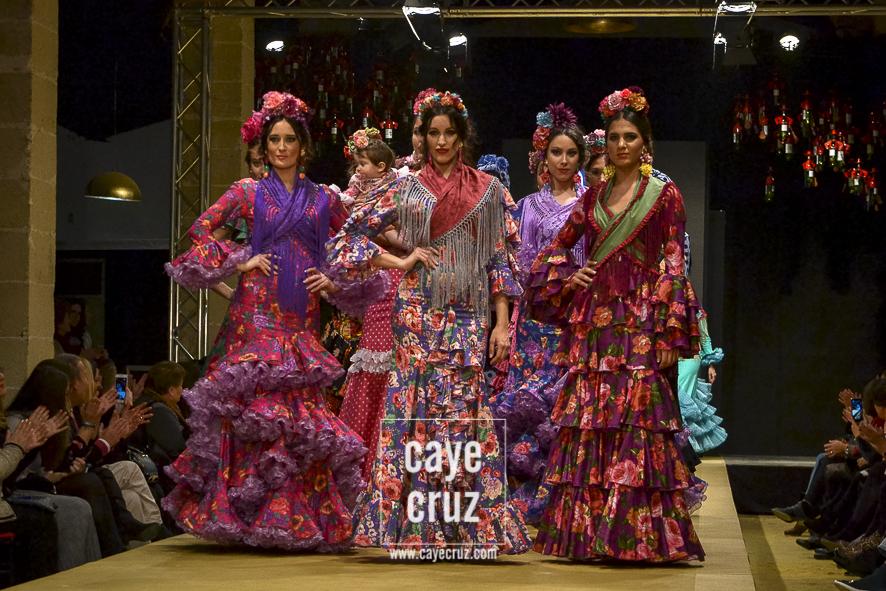 Pasarela Flamenca de Jerez 2018. Rocío Martín: Del Hontoria a Doñana