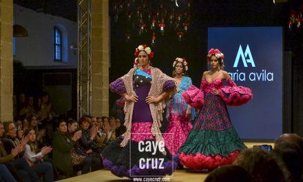 Pasarela Flamenca de Jerez 2018. María Ávila: Frichenta