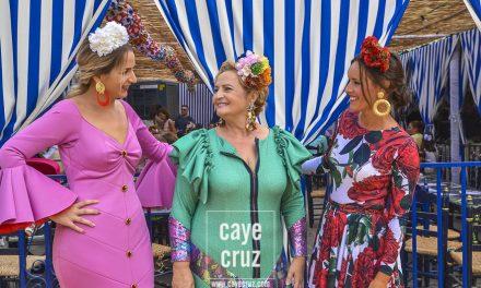 Flamencas en la Feria de Lebrija 2018