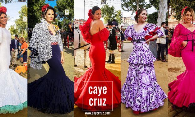 Flamencas en la Feria de Sevilla 2019