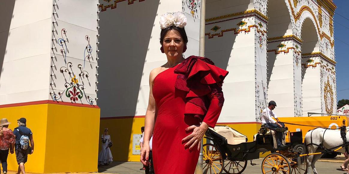 Flamenca real y de pasarela