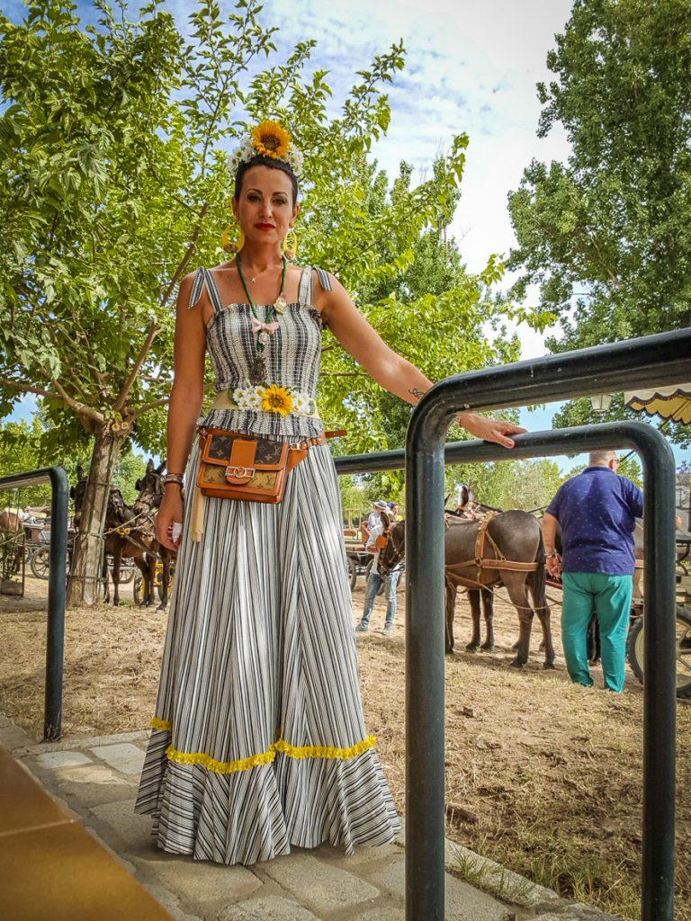 15b56e0ec Flamencas en el Rocío 2019. 1ª Parte: Camino | CayeCruz