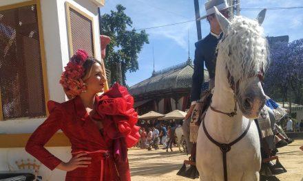 Flamencas en la Feria de Jerez 2019