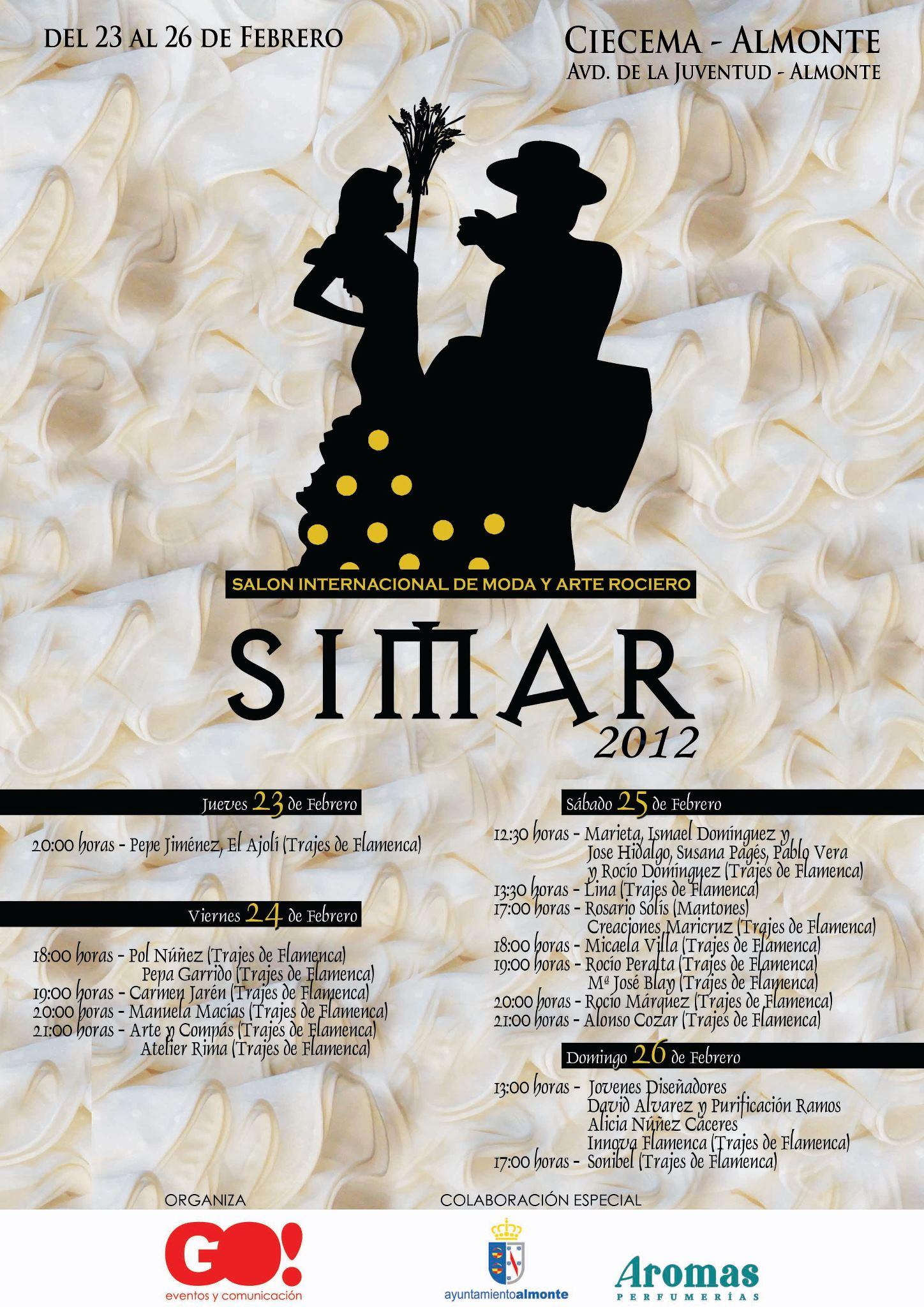 Simar 2012: Cartel y Programación
