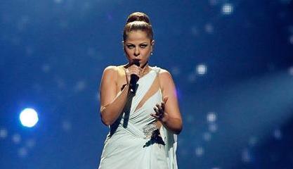 El vestido de Pastora Soler en Eurovisión