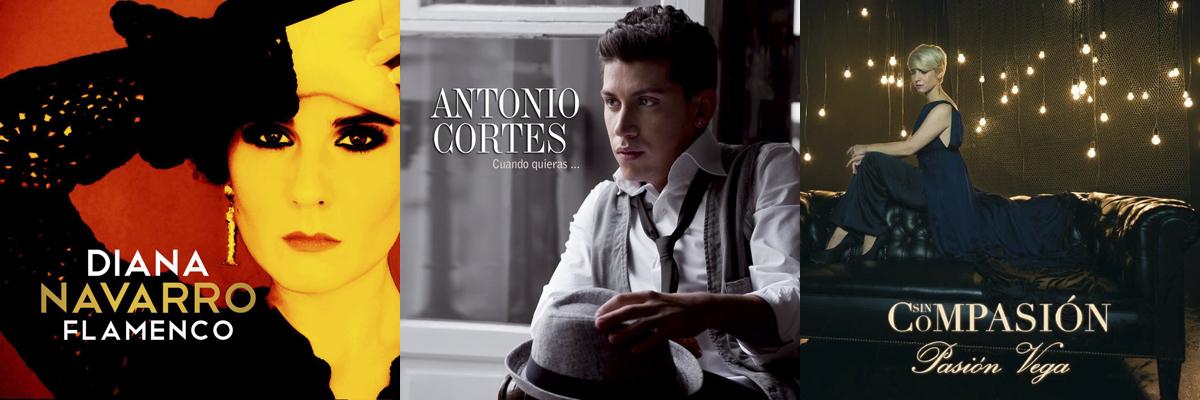 Diana Navarro, Antonio Cortés y Pasión Vega nominados a los Grammy Latino