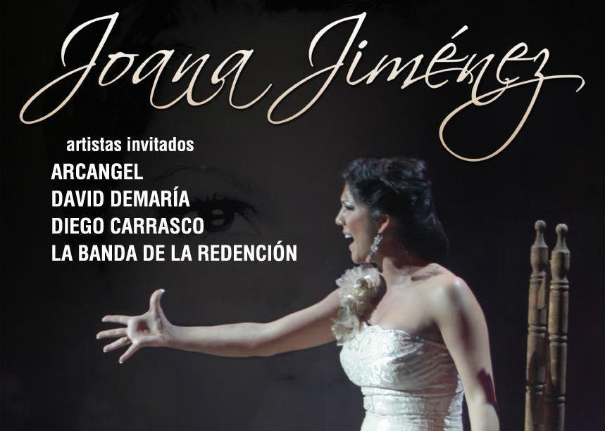 Cartel de lujo para Joana Jiménez en Espartinas
