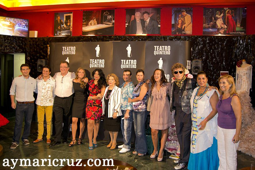 Programación del Teatro Quintero para la Bienal de Flamenco de Sevilla