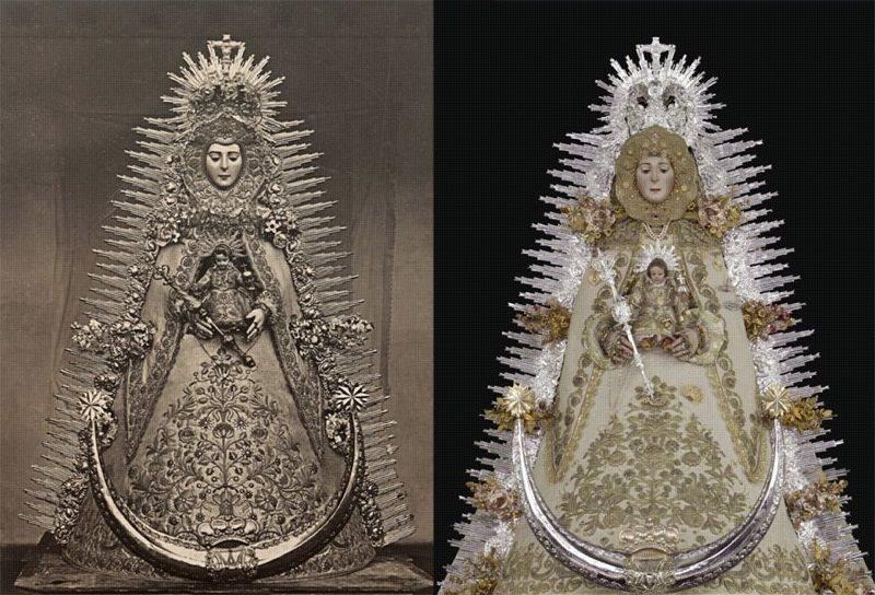 La Virgen del Rocío como la vieron hace 100 años