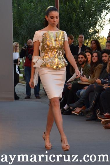 """375c3ee33 Andalucía de Moda 2012  Claudina Mata """"Vendimia Vintage"""""""