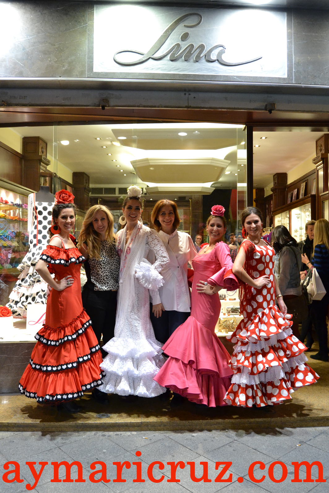 Lina: calentando motores para la nueva temporada de flamenca