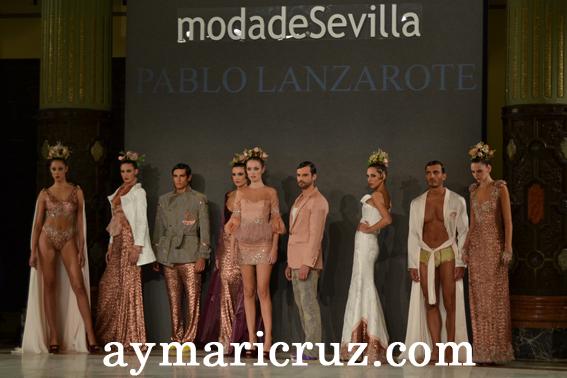 Moda de Sevilla 2012: Pablo Lanzarote «Be BoHeMian/Lujuria by PbLZ»