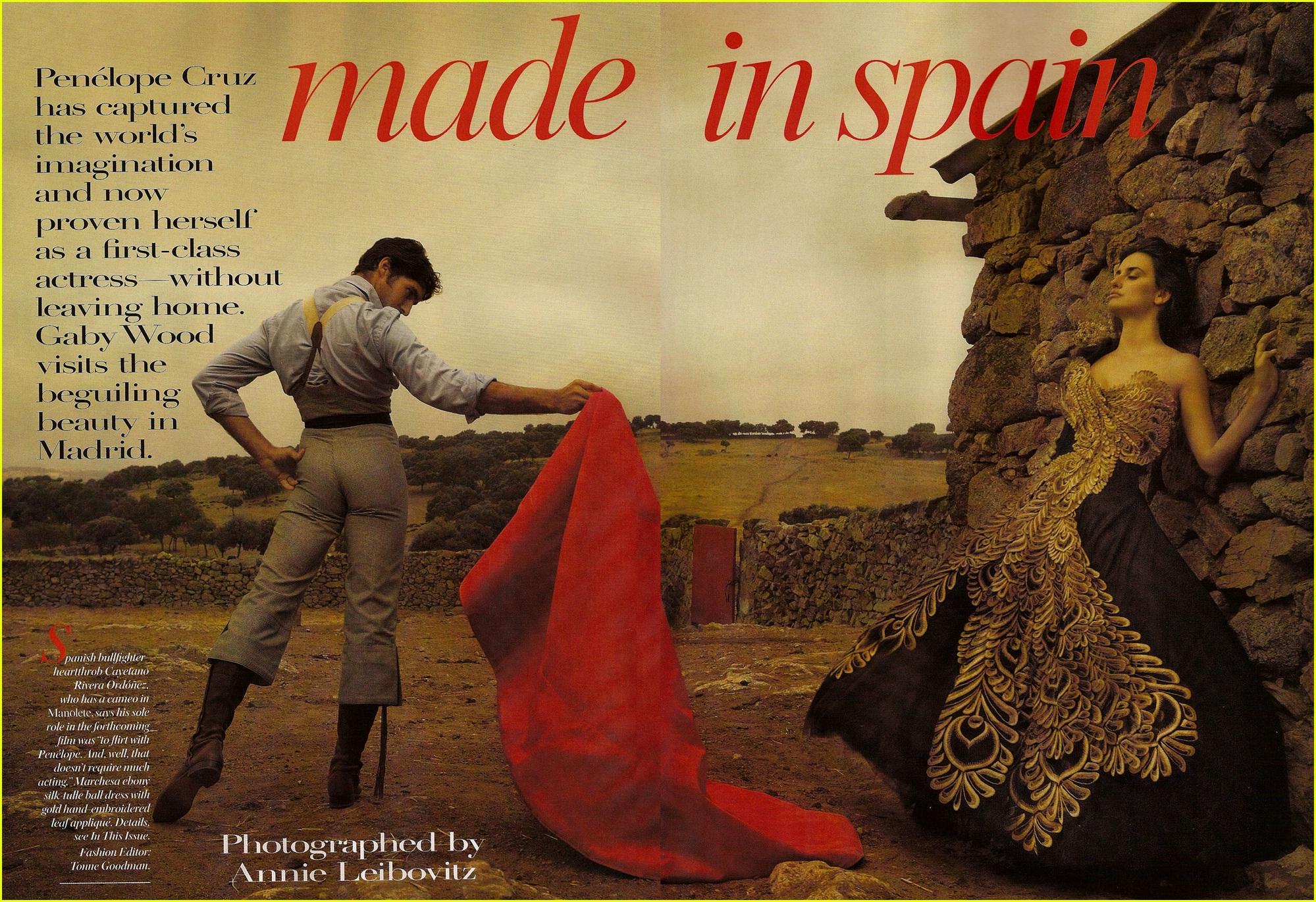 Made in Spain: nuestra cultura según Annie Leibovitz