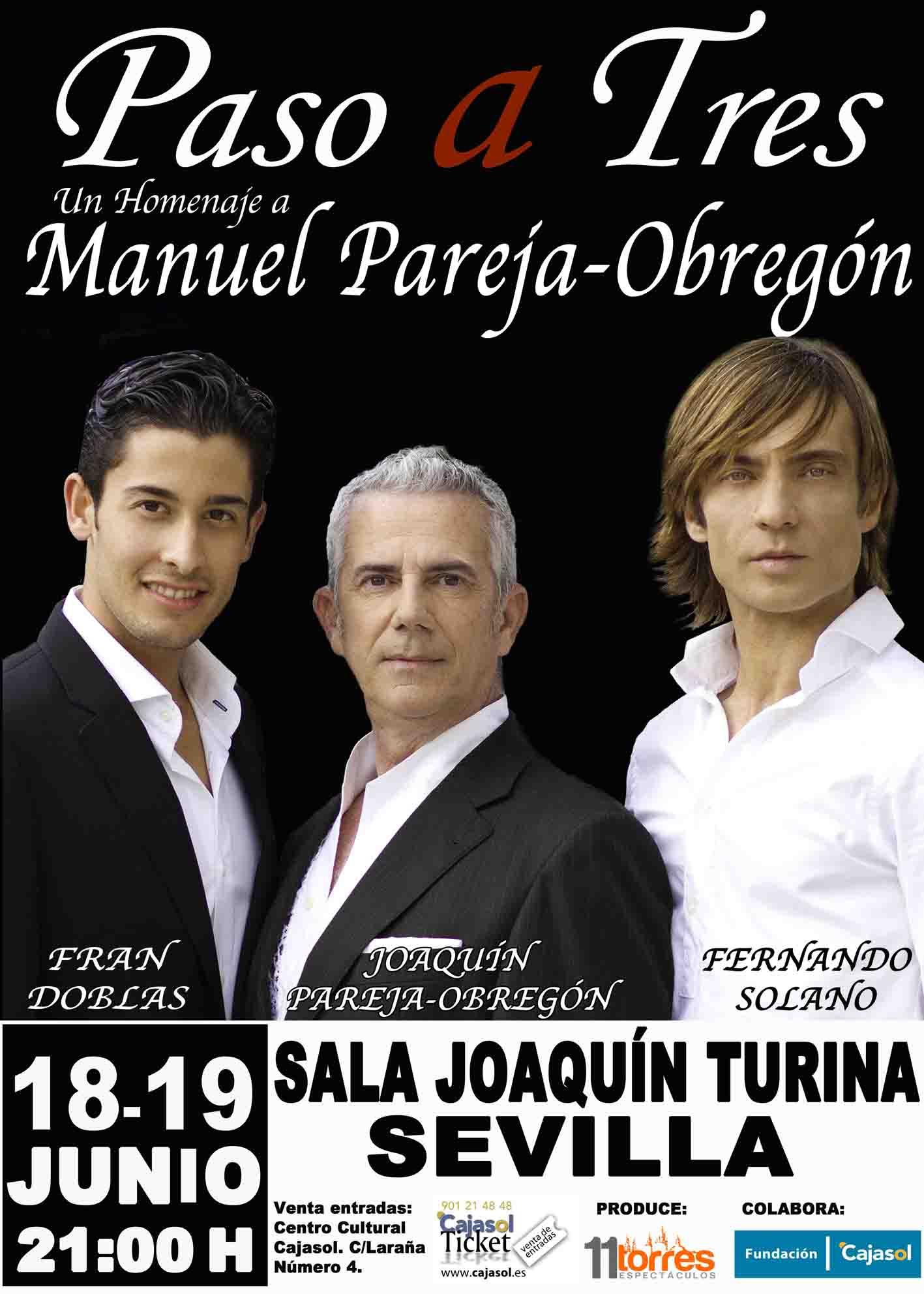 Paso a Tres se estrena en Sevilla