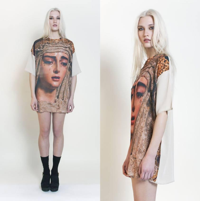 La Virgen de la Salud de San Gonzalo reconvertida en icono pop-fashion (o moderno)