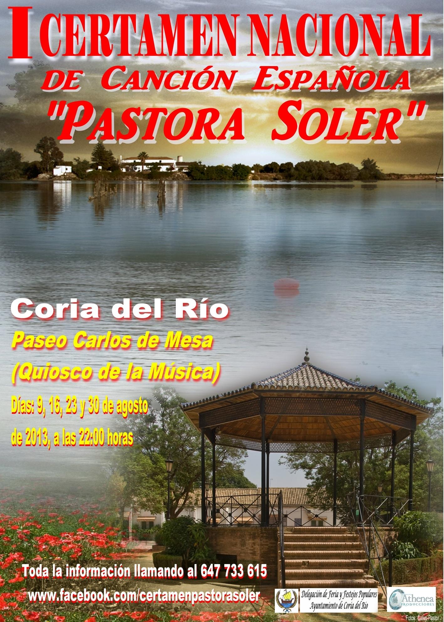 I Certamen de Copla «Pastora Soler» en Coria del Río