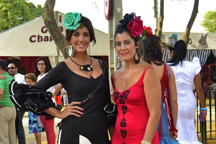 Flamencas en el Real: Feria de Lebrija