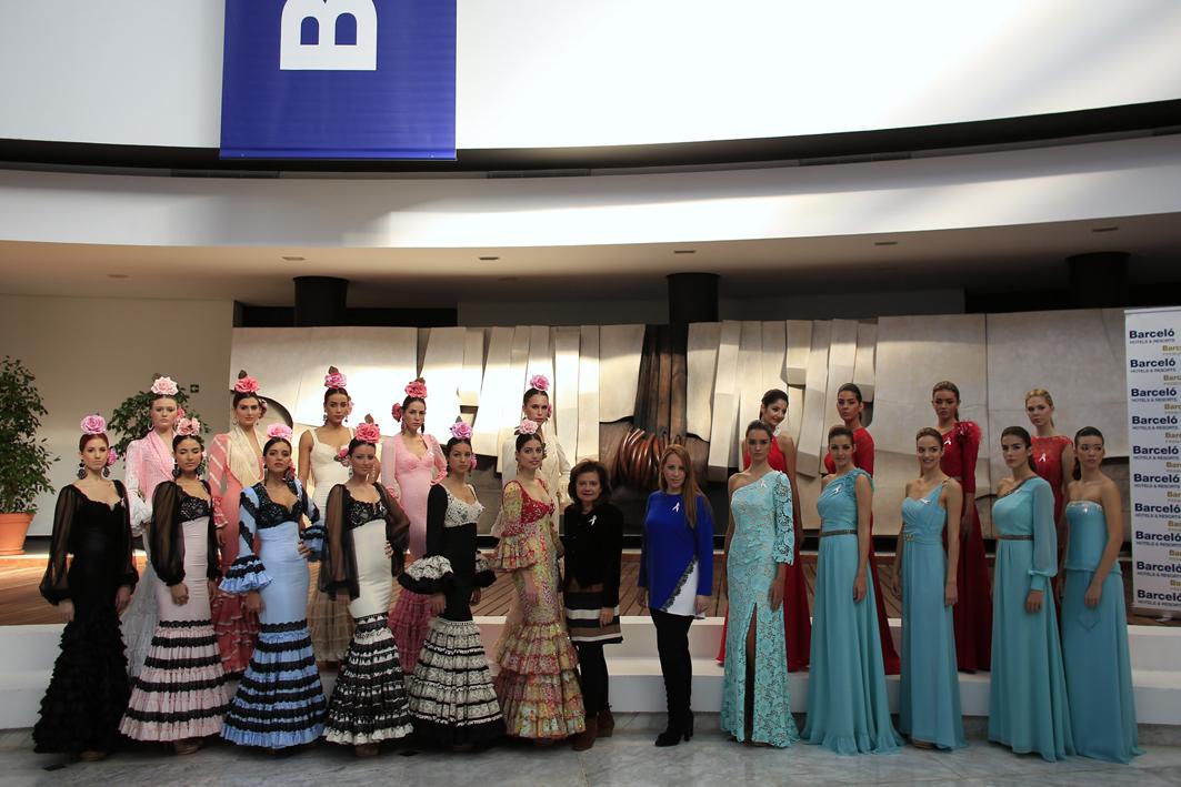 Moda Flamenca y de Fiesta para las candidatas a Miss World Sevilla 2013