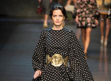 Primavera de lunares con Dolce&Gabbana