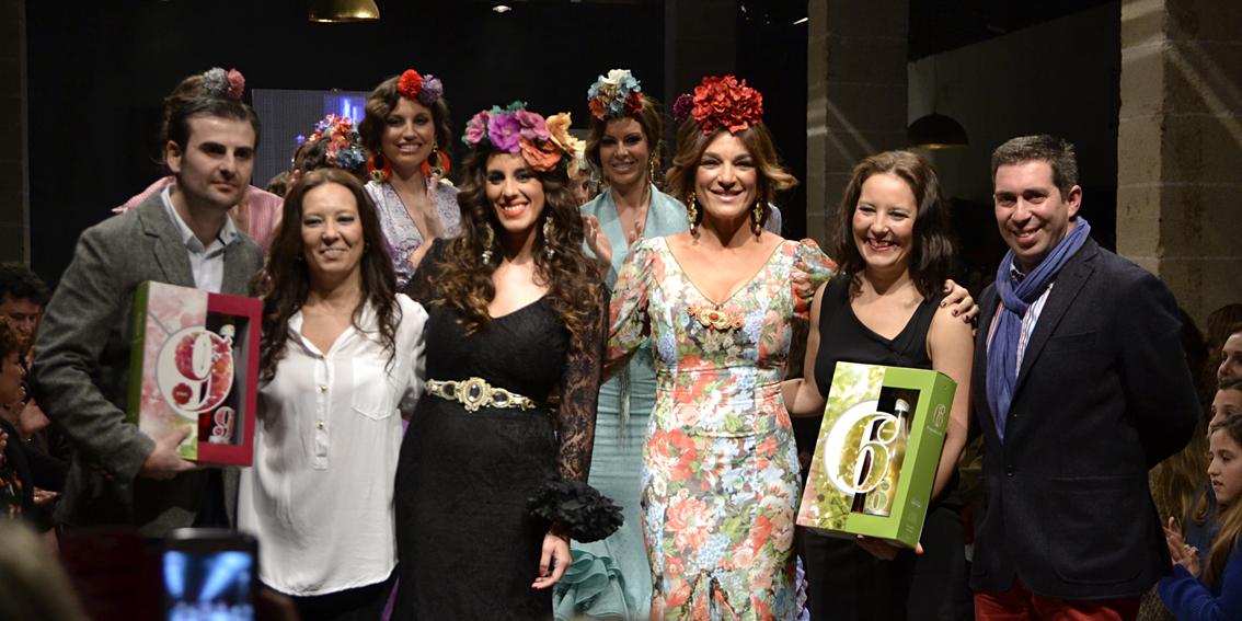 MB Pasarela Flamenca 2014. Rocío Martín: «Un camino de flores»