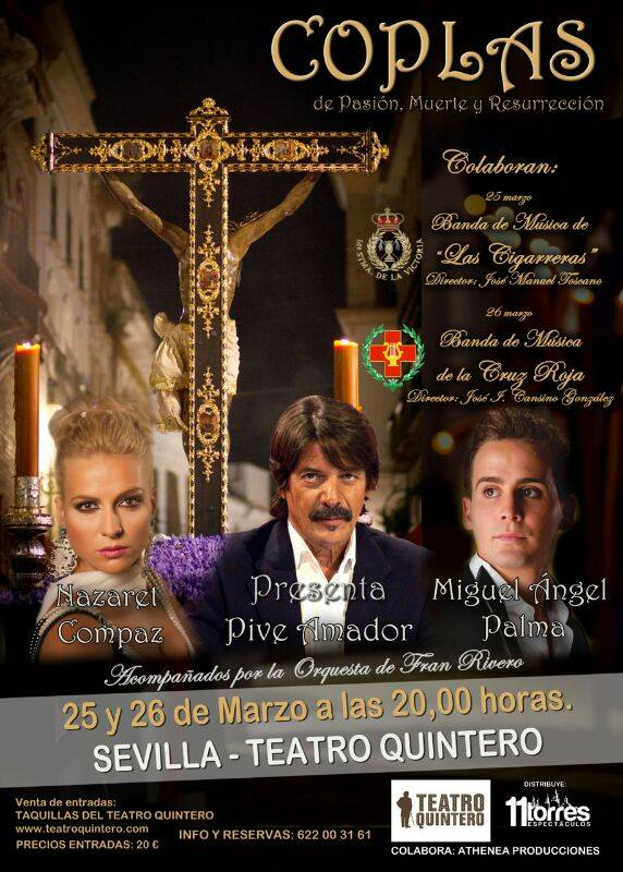 Coplas de Pasión, Muerte y Resurrección con Nazaret Compaz y Miguel Ángel Palma