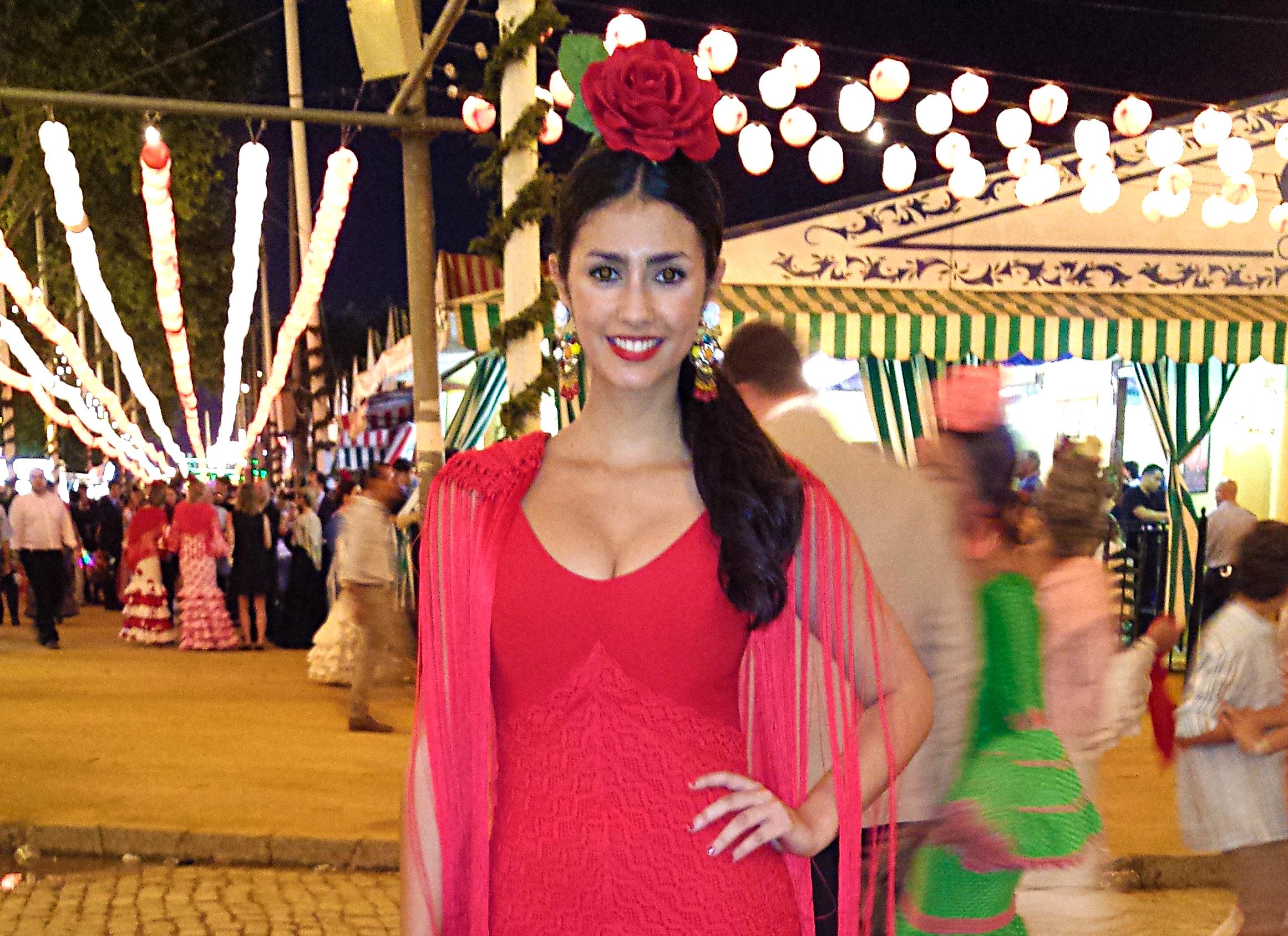 Flamencas en la Feria de Sevilla 2014
