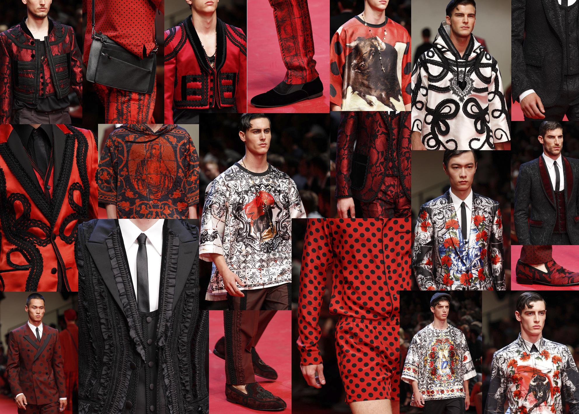 La España Torera de Dolce&Gabbana