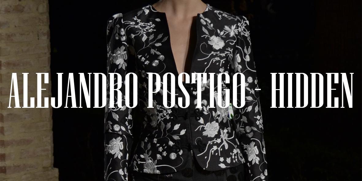 Andalucía de Moda 2014. Alejandro Postigo: Hidden